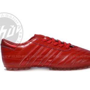 Giày Ba Sọc Đỏ Full Màu