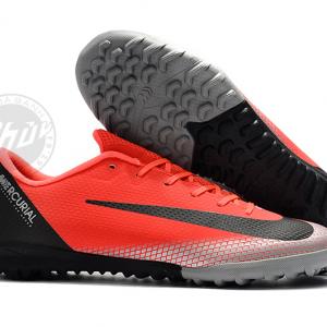 Giày Đá Bóng Nike Mercurial Vaporx XII Academy CR7 Đỏ Đen