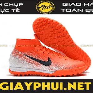 Giày đá banh Nike SuperflyX 6 Elite Cam Trắng